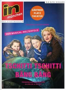 """Coverfoto Stadtmagazin """"in münchen"""""""