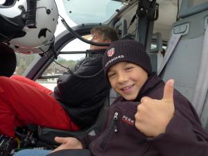 Hubschrauber-Fliegen ist klasse!